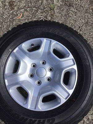 ford ranger Set Of 4 wheels and tyres