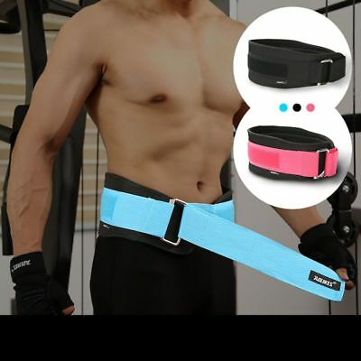 Weight Lifting Gym Belts Fitness Workout Back Support Bodybuilding Training Belt