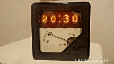 Vintage Industrial Style Nixie Electronic Clock