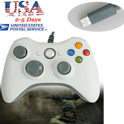 Portable Wired Gamepad Controller Joystick Joypad games For PC Microsoft Xbox360