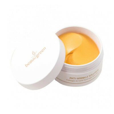 [BEAUUGREEN] Collagen & Gold Hydrogel Eye Patch - 90g (60pcs) / Free Gift