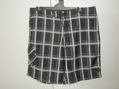Men's HURLEY Board Shorts 100% Polyester Size 38  (100cms) Good Cond.