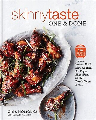 Skinnytaste One and Done by Gina Homolka (Hardcover) NEW