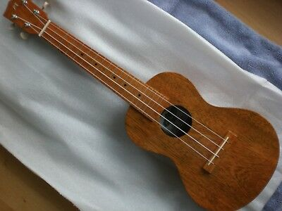 Mabuhay, Con. Ukulele elektr, Mango vollmassiv NEU, hand made in the Philippines