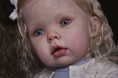 """Reborn Doll KIT (only) Tibby Standing by Donna RuBert 31"""" long when completed"""
