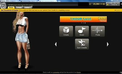 25000 Imvu Credits By Sticker Or Product Purchase Only