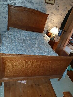 French Antique Heart King Size Bed