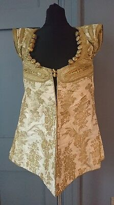 Antique Judaica 19th Century Muslim / Jewish / North African Brocade Jacket