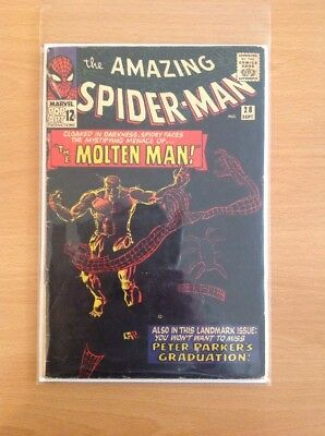 Amazing Spider-Man Nr. 28 1st. Molten Man (Steve Ditko) (very good-)