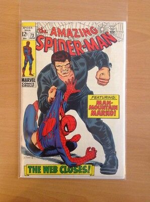 Amazing Spider-Man Nr. 73 (Very Fine-)