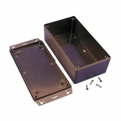 Hammond 1591XXDSFLBK GPABS Enclosure Flanged Lid 152 x 82 x 50mm Black