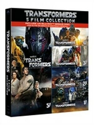 Transformers - 5 Film Collection (5 Blu-Ray Disc + Bonus Disc)