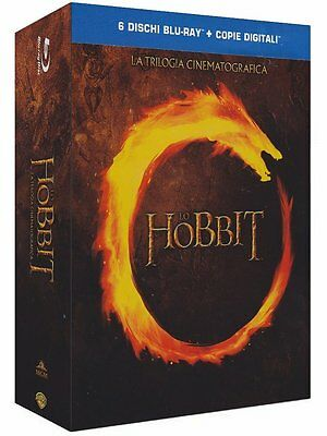 Lo Hobbit - La Trilogia Cinematografica (6 Blu-Ray Disc + Copie Digitali)