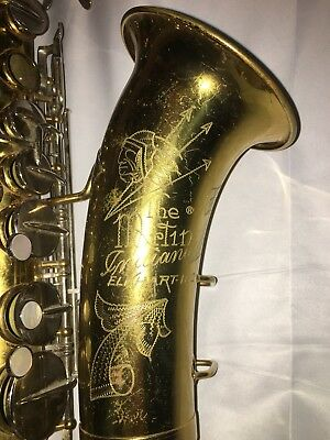 The Martin Saxophone Indiana Vintage No Top Mouth Piece S/N 85282