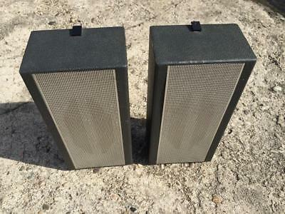 2 TELEFUNKEN KLANGBOX HiFi speakers german vintage vintage