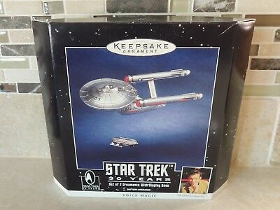 1996 Hallmark Keepsake Ornament Star Trek USS Enterprise 30th Anniversary-NRFB