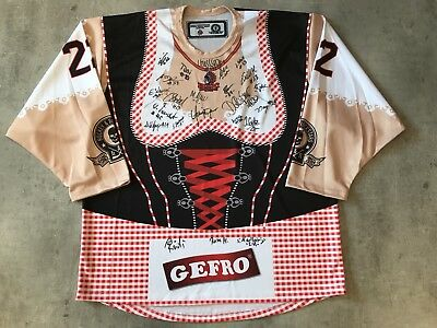 ECDC Memmingen Indians Frauen DIRNDL Game Worn Jersey  22 - Team signiert -  XL ac5156bbd