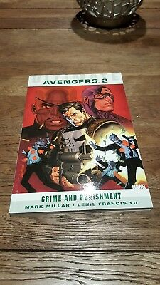 Ultimate Comics Avengers: Crime And Punishment by Mark Millar (Paperback, 2011)