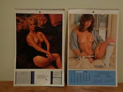 Playboy Playmate Wall Calendar 1969  and 1979 with envelope