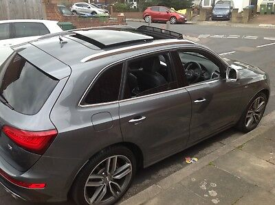 audi SQ5 Q5 2015 grey fully loaded lots of extras 64,000 miles from new HPI clea