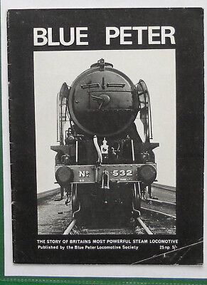 Railway Locomotive. Booklet. Blue Peter.