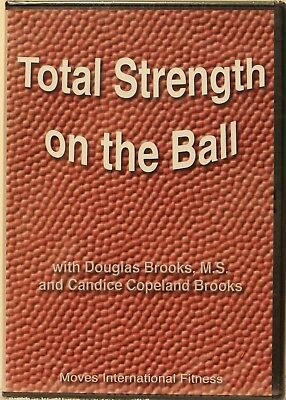 NEW Total Strength on the Ball how to for personal trainers DVD workout fitness