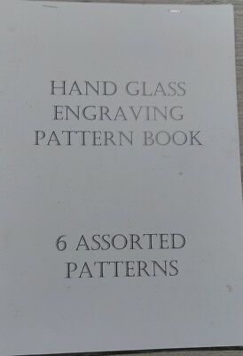 Glass Engraving Patters 6 Assorted A4 Sheets