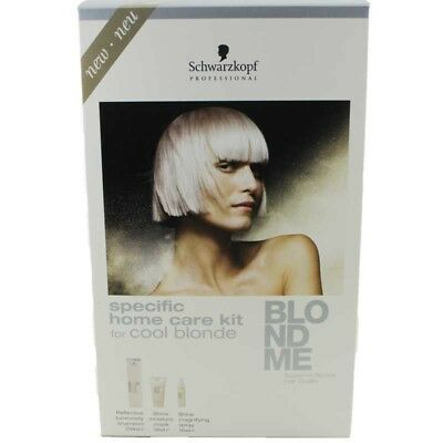 Schwarzkopf BLONDME specific home care kit for cool blonde