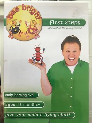 Bee Bright first steps with Justin Fletcher - Ages 18 Months+