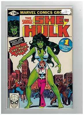 Savage She-Hulk (1980) #   1 (8.0-VF) First Appearance (338301)