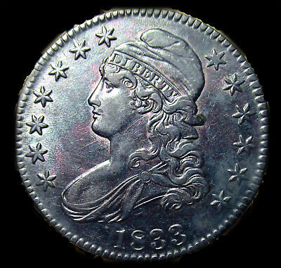 1833 Capped Bust Half - Beautiful Coin