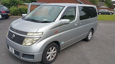 Nissan Elgrand 03 mpv/day van, great car! CAR LOCATED IN DERBY