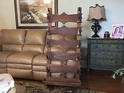 """Vintage/antique Real Cow Horn  Cow/hat/ Gun Rack  25"""" By 53"""""""