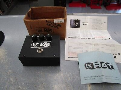 Vintage 1980's? Pro Co The Rat Distortion ProCo Guitar Pedal LM308N Chip USA