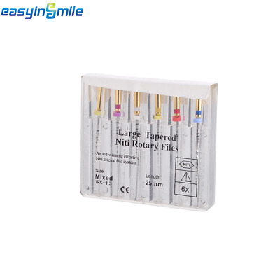 25MM EASYINSMILE X-Taper Dental NITI Endo Files Super Engine Rotary for Treament