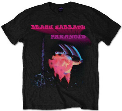 Black Sabbath 'Paranoid Motion Trails' T-Shirt - NEW & OFFICIAL!