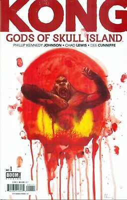 Kong Gods Of Skull Island #1 By Johnson & Lewis Wilson Variant A Boom! NM/M 2017