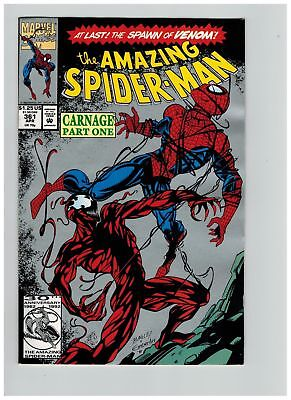 Amazing Spider-man (1963) # 361 2ND PRINT (8.0-VF) 1ST APP CARNAGE