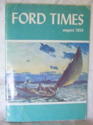 VINTAGE 1956 FORD TIMES OSAGE COUNTY MOTORS KANSAS Thunderbird and More
