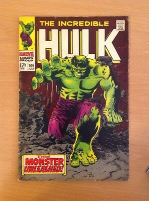 Incredible Hulk Nr. 105 (very Good+)