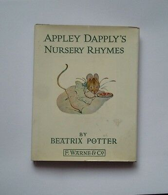 APPLEY DAPPLY'S NURSWEY RHYMES   by BEATRIX POTTER 1975
