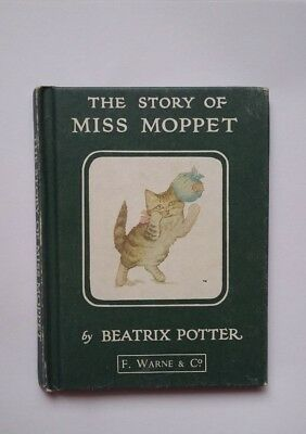 THE TALE OF MISS MOPPET   by BEATRIX POTTER
