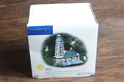 Department 56 Lighthouse Lighted Ornament Retired 2000 Snow Village 98635
