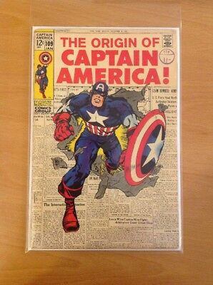 Captain America Nr. 109 (Origin) (Jack Kirby) (very Good)