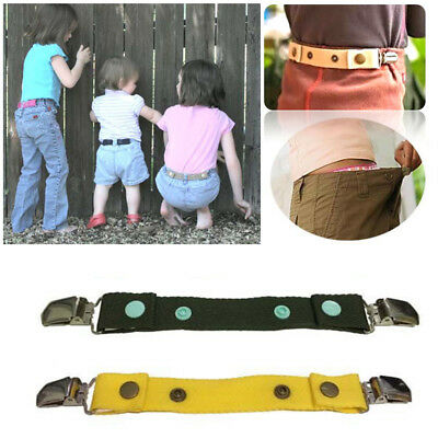 2pcs Dapper Snappers Adjustable Toddler Belt with Add-on Clips Included