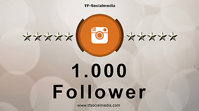 1000+ UHQ real Instagram Followers - Fast Delivery