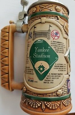 New York Yankees Stadium Lidded Beer Stein Limited Edition - Longton