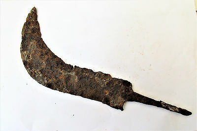 Ancient Antique Byzantine Hand Sickle Scythe Grim Reaper FG