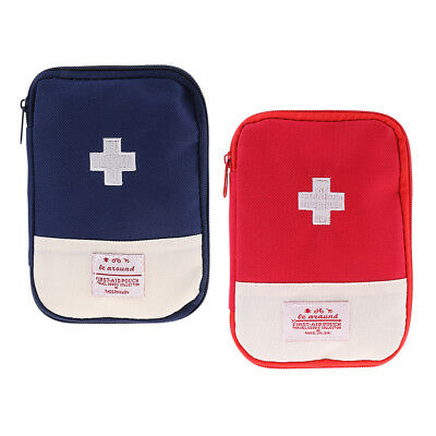 2pcs Survival First Aid Kit Outdoor Medical First Aid Emergency Storage Bag
