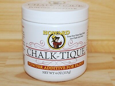 HOWARD CHALK-TIQUE Powder Additive For Paint Distressed Antique Look